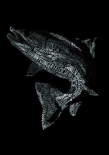 Typography: fish (by raphael nogueira)