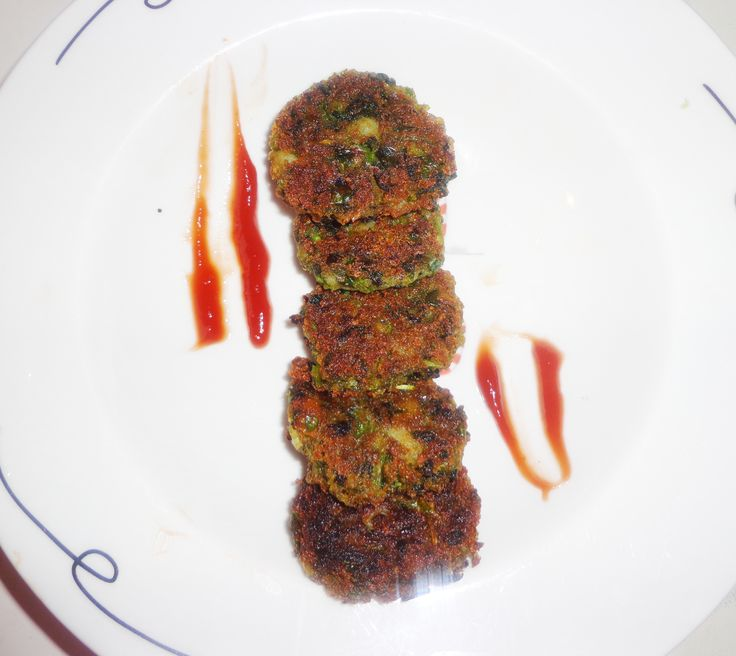 How to make Spinach Mutter Cutlet or Hara Bhara kabab Recipe in Indian Style