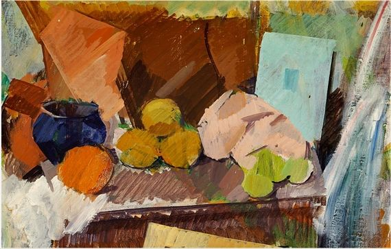Edvard Weie (1879-1943): Nature Morte (1923) #danish_art