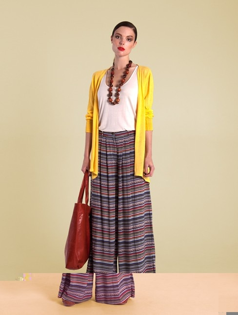 Superfine Cardigan in Yellow from Handsom. 100% cotton for spring / summer 2012/13 collection $114