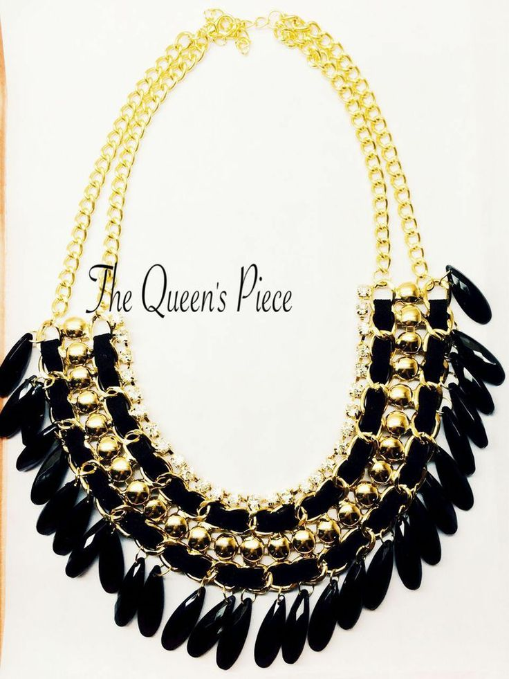 Magnifi Piece  #jewelry #queen #piece #gold #royal #necklace #modern #classy #trend