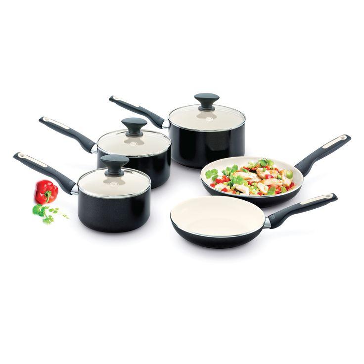 Green Pan Sofia 5 Piece Cookware Set