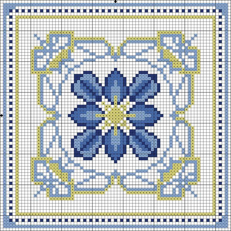 Filomena Crochet e Outros Lavores: - Lançamentos no novo blog - Azulejo