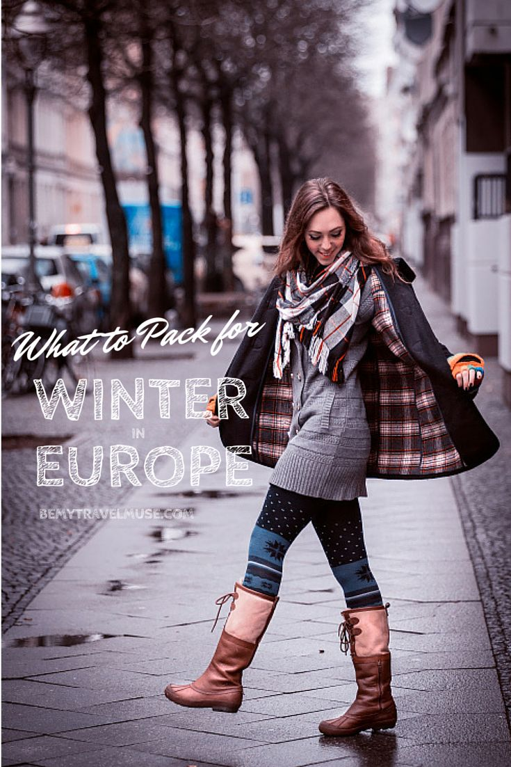 What to pack for traveling in Europe in the winter...
