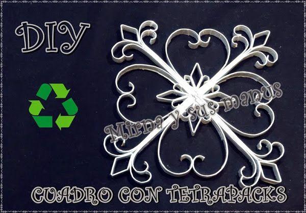 DIY: Cuadro reciclando tetrapacks