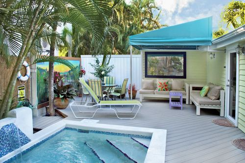 17 best images about key west rental cottages on pinterest for Chelsea pool garden key west