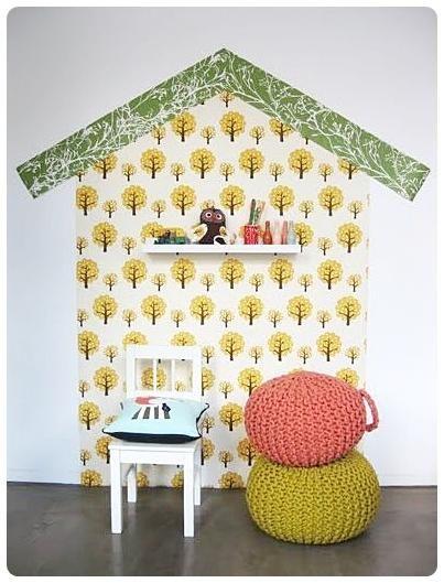 Ideal Kinderzimmer Wanddeko