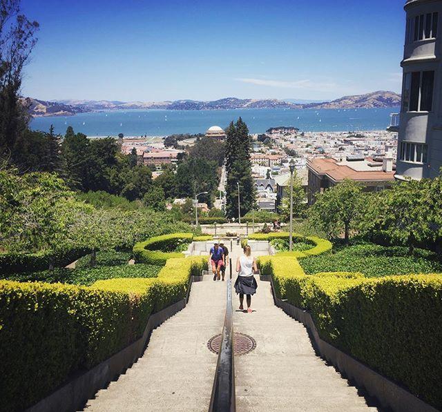 Lyon Street Steps San Francisco, CA