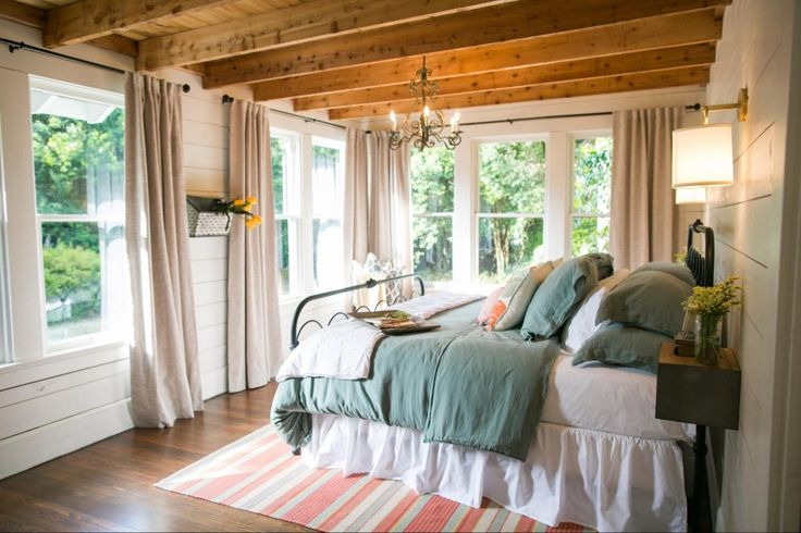 The Beanstalk Bungalow | Season 3 | Fixer Upper | Magnolia Market | Bedroom | Chip & Joanna Gaines | Waco, TX