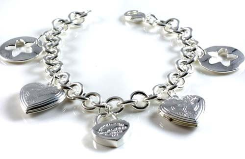 Tiffany & Co Bracelets Hollow Circle Racket