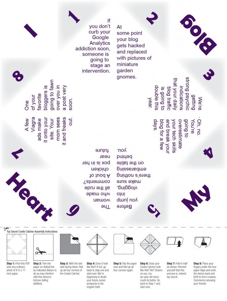 56 best Cootie Catchers   Paper Fourtune Tellers images on - cootie catcher template