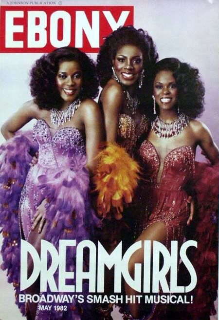"Dreamgirls (1981), starring Jennifer Hudson (Effie White), Loretta Devine (Lorrell Robison), and Sheryl Lee Ralph (Deena Jones) is a Broadway musical based upon the show business aspirations and successes of R&B acts such as The Supremes, The Shirelles, James Brown, Jackie Wilson, and others. The musical follows the story of a young female singing trio from Chicago, Illinois called ""The Dreams"", who become music superstars."