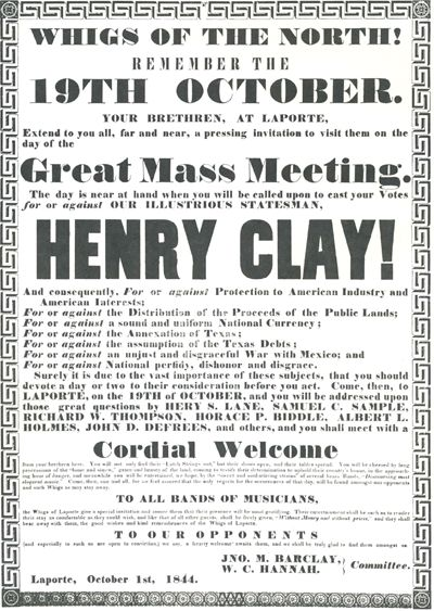 """The 1824 """"American System"""" Speech By Speaker Henry Clay of Kentucky"""