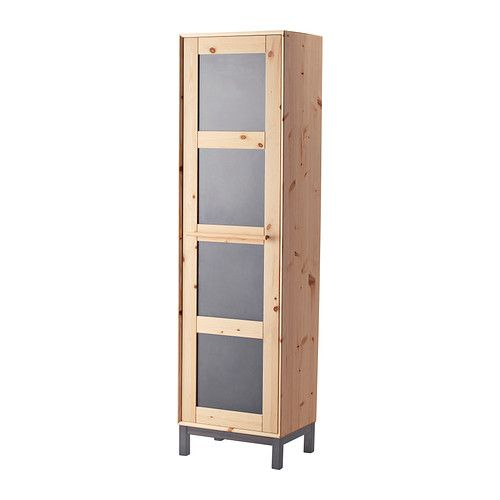"""NORNÄS Wardrobe  - IKEA NORNÄS Wardrobe, pine, gray $249.00 Article Number: 402.824.94 Made of solid wood, which is a durable and warm natural material.Adjustable shelves make it easy to customize the space according to your needs.Easy to reach your clothes hanging in the back. Just pull out the rail. Read more Size 22x17 3/8x79 1/2 """""""