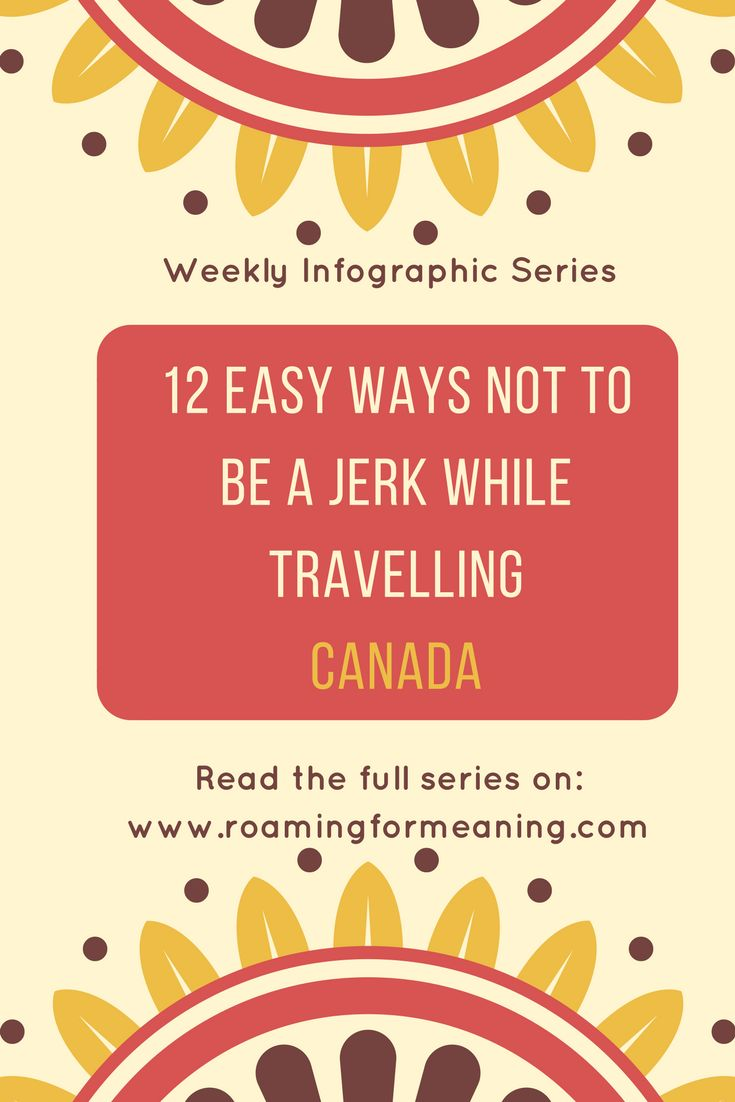 With Canada Day just around the corner, this week's infographic celebrates the cultural etiquette of Canada.