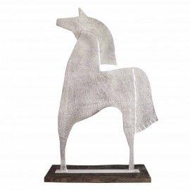 SAETTA D'ARGENTO scultura cm. 93