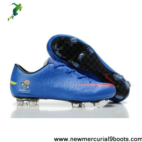 Star's favorite Euro Nike Mercurial Vapor VIII FG Blue Red Soccer Boots For Sale