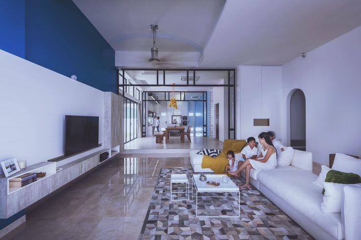 Unconventional loft - open concept living