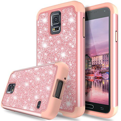 Galaxy S5 Case, TAURI Fashion Glitter Sparkle Bling Shiny [2 In 1] Hybrid Defender Protective Armor Case For Samsung Galaxy S5  https://topcellulardeals.com/product/galaxy-s5-case-tauri-fashion-glitter-sparkle-bling-shiny-2-in-1-hybrid-defender-protective-armor-case-for-samsung-galaxy-s5/  Compatibility – Designed for Samsung Galaxy S5. Unique Style- Bling bling design. Solid trim with shiny and glamorous glitter back adds luxurious style to your phone. Perfect for ever