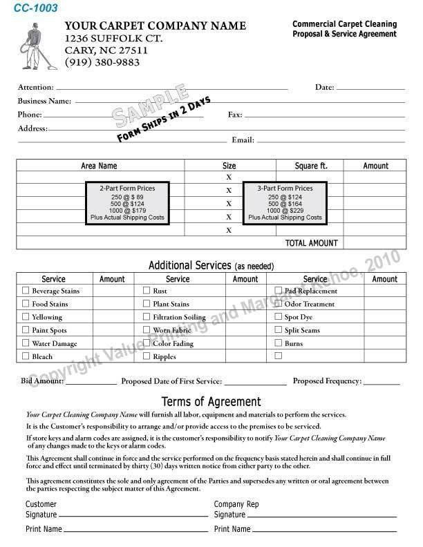 Carpet Cleaning Contract Template Luxury 6 Cleaning Proposal Templates Proposal Template Proposal Templates Business Proposal Template Estimate Template