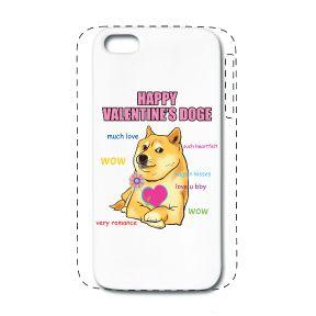 DOGE iPhone 5/5S case cover design! $21.90 #iphonecase #iphone5cover #iphone5Scover #design #doge #valentinesday