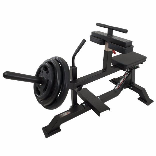 Máquina Para Pantorrilla Barbarian Line Entrenar En Casa Como Los Profesionales Es Posible Maquinas De Gym Diseño De Gimnasio En Casa Aparatos De Gym