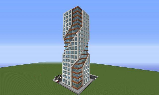 многоэтажки в майнкрафте как построить