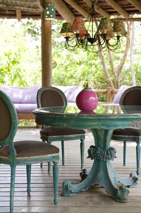 Hotel Casas da Vila, Trancoso – Bahia. Brasilien. ein kleines tropisches Paradies unter Palmen