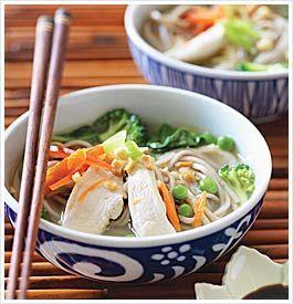 Asian noodle bowlEat Clean Diet, Clean Recipes, Diet Recipes, Loss Recipe, Asian Noodles, Easy Recipes, Noodles Bowls, Eating Cleaning Diet, Recipe Asian