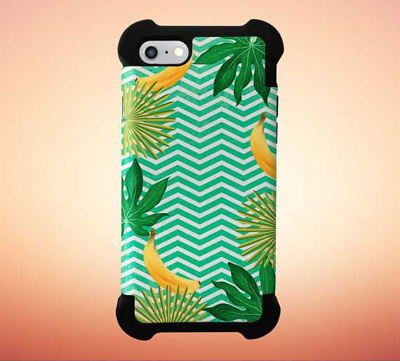 Go Bananas x Tropical Chevron Phone Case for iPhone and Samsung