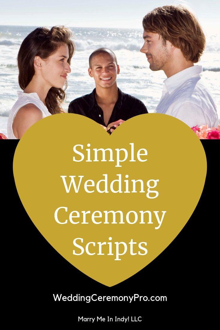 32++ Short wedding ceremony script pdf ideas in 2021
