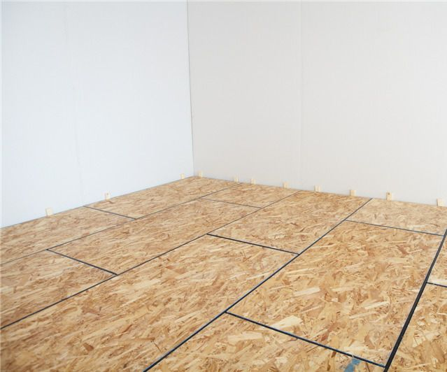 How To DIY Finish Your Basement Floor   Insulated Subfloor Installation  (Amdry)