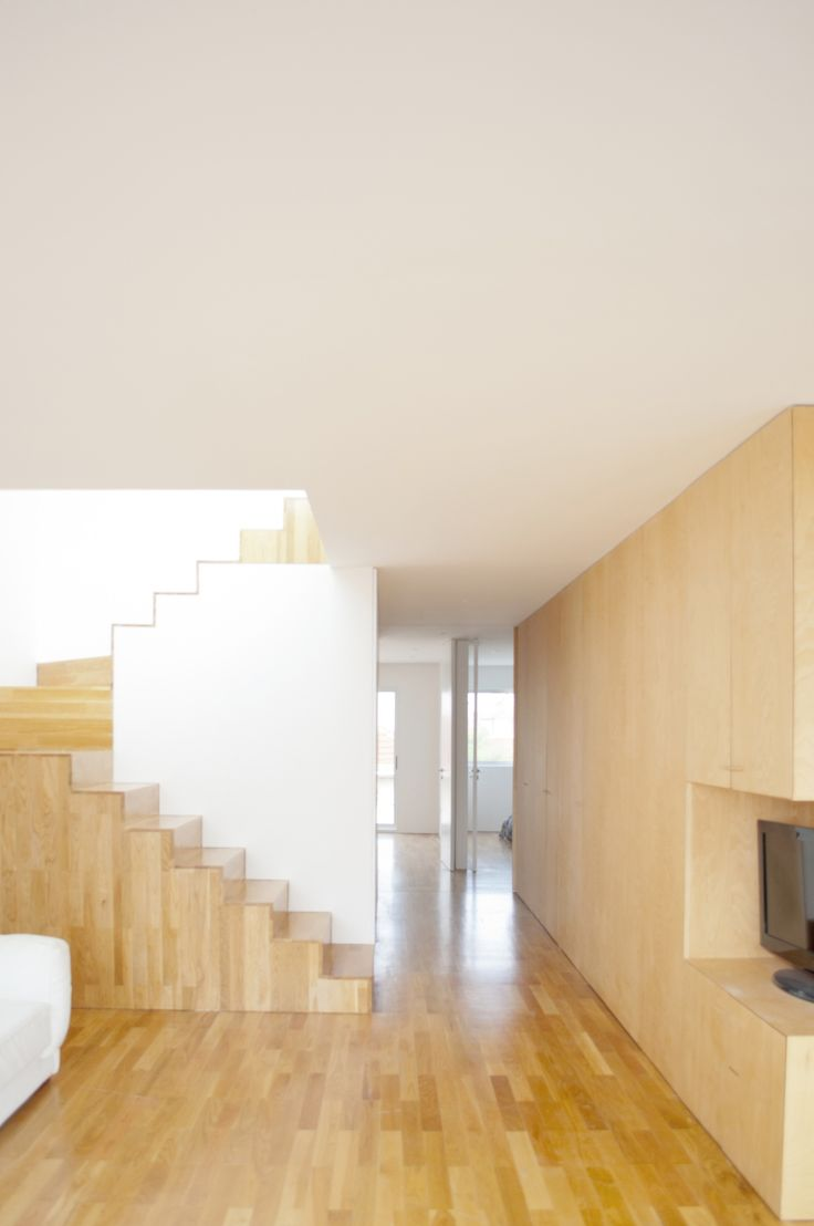 Built by OODA in Porto, Portugal with date 2012. Images by ctrl + N   productions. In a place nearby the sea in Porto, we had the chance to design a complete transformation of a two story apartment.  ...