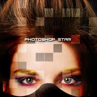 Unusual Photo Stylizing Effect by Fragments