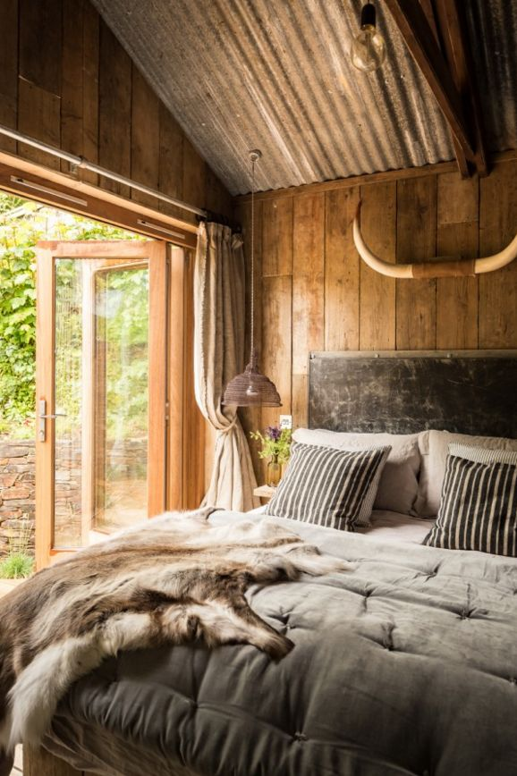 17 Best ideas about Cabin Curtains on Pinterest Bedroom
