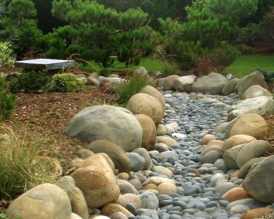 Attractive Landscape And Garden Wonderful Dry River Bed Garden As Your .