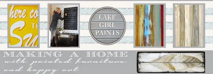 Lake Girl Paints