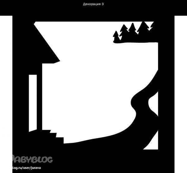 Теневой театр. Материалы и шаблоны. - Игры с детьми - Babyblog.ru