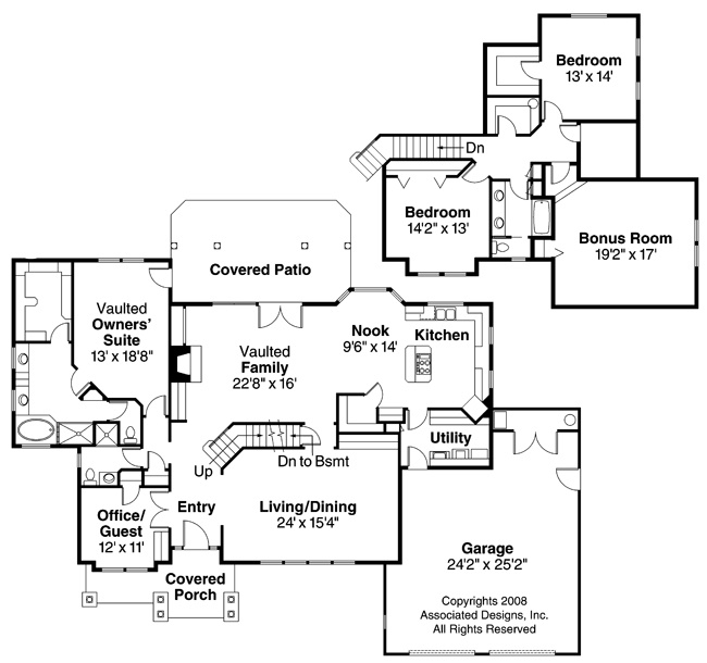 1000 images about 4 bedroom house plans on pinterest for Neoclassical house plans