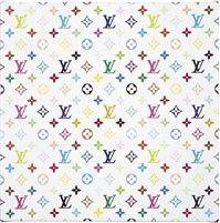 Monogram Multicolore, White, 2007.