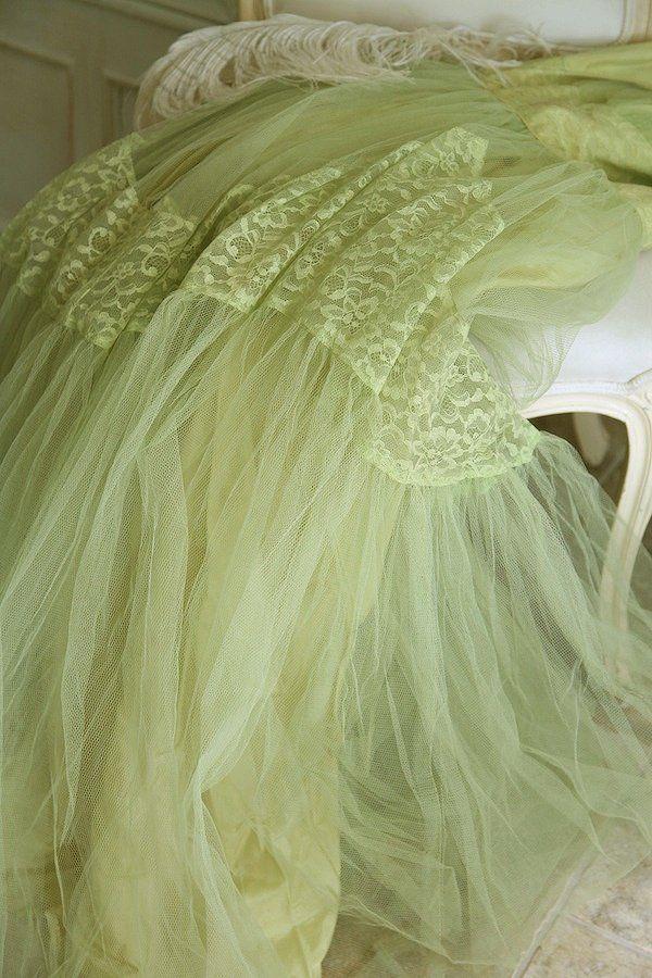 Vintage Prom Dress Tulle