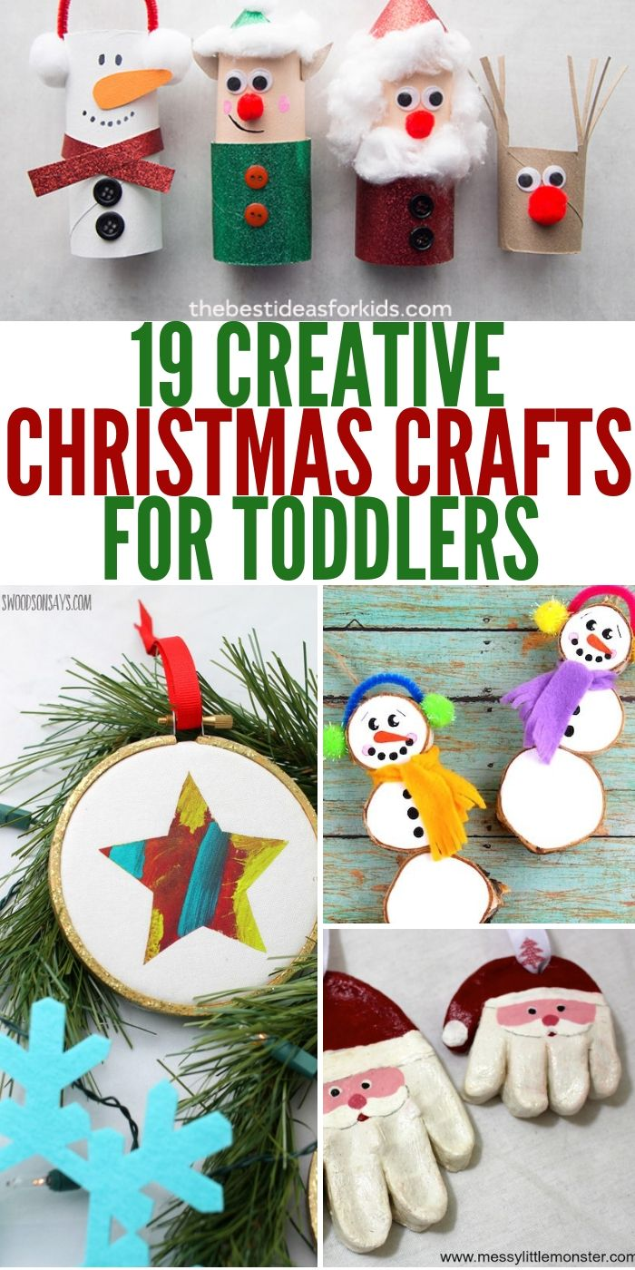 19 Christmas Crafts For Toddlers You Must See Right Now
