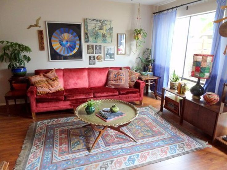 "Andrea's ""Vintage Jewel Tones"" Room — Room for Color 2014"