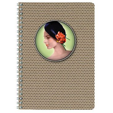 Les cakes de bertrand - wirebound notebook A5 (Line)