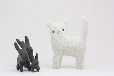etsy Sleepy King | White Cat with Swirly Whiskers Brooch , $34 by Ememem in Galway ...