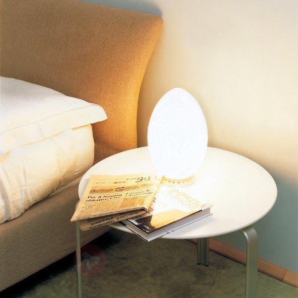 Przepiękna lampa stołowa UOVO 18 cm 3520172