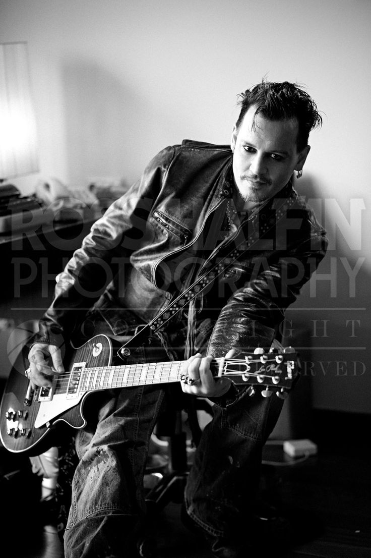 Ross Halfin Photography A very happy birthday to Mr. Johnny Depp today.