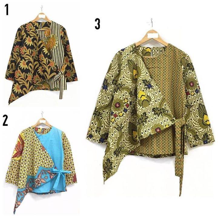 TOP 015 ats . Blouse lengan panjang dengan kombinasi motif batik yang berbeda.. dibagian depan tali silang. Dengan kancing pembuka dibelakang.  Size : Allsize  Ld 100 Pjg lengan 52 Pjg baju 66 . . CP  LINE @bebatikanjogja (pakai '@')  WA 081904019099 (slow response)  Toko Baju Batik Modern | http://ift.tt/2flJQTw