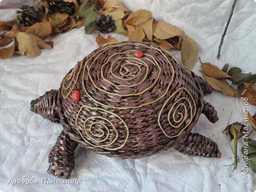 Поделка изделие Плетение Домик для чая и Крошка - енот Бумага газетная Трубочки бумажные фото 9
