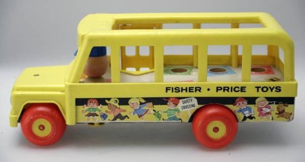 """Fisher Price"" SCHOOL BUS ©2012 Photo by Daniel Wermuth c/o http://www.wermuthgrafik.ch"